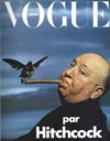 Hitchcock on the cover of Vogue Paris 1974
