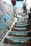 Painted steps