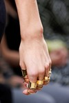 A fistful of rings at Balenciaga S/S13