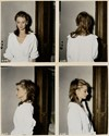 Audrey Hepburn's Breakfast at Tiffany's hair test Polaroid