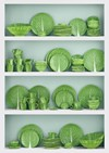 Dodie Thayer x Tory Burch Lettuce Ware