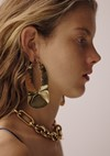 Céline gold jewellery for Pre-Fall 15