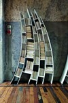 A book case from Italian furniture manufacturer Saba Italia's 2010 collection