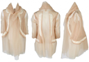 Comme des Garçons Tulle and Silk Nude Jacket