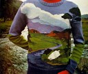 Knitted Landscape Sweater
