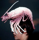 Isabella Blow in Philip Treacy lobster hat