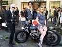 Chanel customised motorcycle