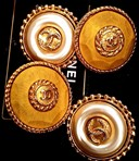 Vintage Chanel clips