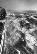 Hurricane in the Atlantic photo by Alfred Eisenstaedt, 1948