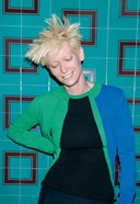 Tilda Swinton in Pringle of Scotland jumper from The CSM Archive Project