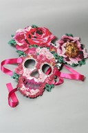 Kenzo Autumn/Winter 11/12 invitation skull mask