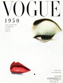 Vogue, 1950, cover by Erwin Blumenfeld