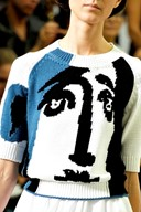 Picasso jumper by Jil Sander S/S12