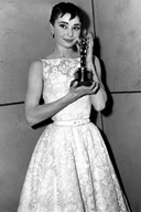 Audrey Hepburn's Best Actress Oscar dress