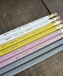 Greenwich Letterpress pencils