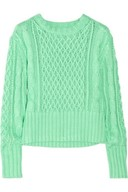 Acne, Lia Cable-Knit Sweater