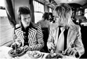 David Bowie and Mick Ronson – UK, 1973 by Mick Rock