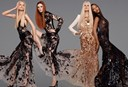 Daphne, Karen, Kristen and Naomi for Roberto Cavalli S/S12