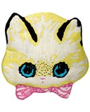 Meadham Kirchhoff Kitty Embroidered Silk Clutch