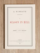 """A Season in Hell"" – Arthur Rimbaud, Patti Smith, Robert Mapplethorpe"