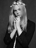 ELLE FANNING MODELS CHANEL'S LITTLE BLACK JACKET