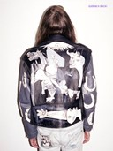 Claire Barrow painted Guernica jacket