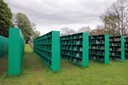 'THE BOOKYARD' OUTDOOR PUBLIC LIBRARY BY MASSIMO BARTOLINI