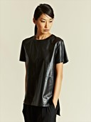 Givenchy lamb leather top
