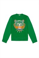 KENZO TIGER EMBROIDERY SWEATER @ OPENING CEREMONY
