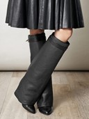 Givenchy Glove Leather Boots
