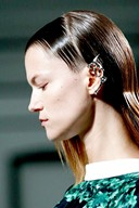 Rodarte S/S13 metal dragon earring