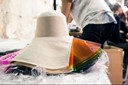 Hats by Noel Stewart for Hussein Chalayan SS13