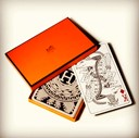 Hermès playing cards