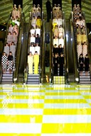 ESCALATOR FINALE AT LOUIS VUITTON SS2013