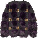 Marc Jacobs Faux Fur Cardigan