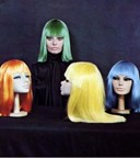 Coloured wigs