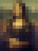 CLASSIC PAINTINGS PIXILATED BY SANGHYUK MOON