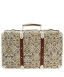 Green Lodden Print Miniature Suitcase by Liberty
