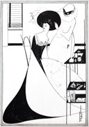 The Toilet of Salome - Aubrey Beardsley