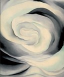 Georgia O'Keeffe, Abstraction White Rose, 1927