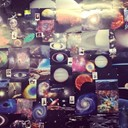 SPACE WALL IN BLEACH DALSTON