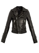 Leather jacket by Balenciaga