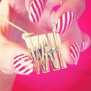 WAH NAILS X LOVE MY CUSTOM NECKLACE