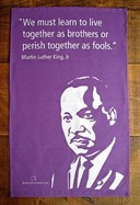 MARTIN LUTHER KING TEA TOWEL