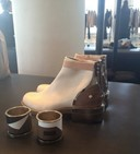 GIVENCHY PRE-FALL 2013 WOODEN HEEL BOOTS