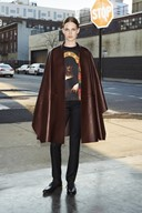 Pre Fall 2013 Givenchy leather cape