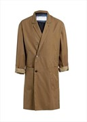 Relaxed Formal Coat in light khaki, Tillmann Lauterbach S/S13