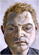 'Francis Bacon' by Lucian Freud, 1952