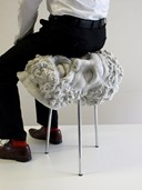Soft Hercules stool.