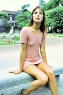 Jane Birkin's pink dress